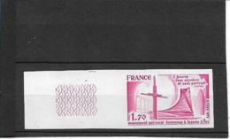 FRANCENon Dentelé N°2051 Neuf** - SUP - - Imperforates