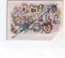 A Eux Nos Pensées ;D'Amade,Pétain,d'Urbal,De Castelnau,Joffre,Galieni,Gd. Duc Nicolas,F.M.French,Albert 1er,Pau,Maunoury - Patrióticos