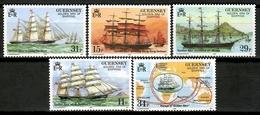 Guernsey 1988 / Ships MNH Barcos Bateaux Schiffe / Cu12306  34-37 - Barcos