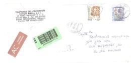 ASSICURATA ANNULLO VERTOVA BG - 2001-10: Poststempel