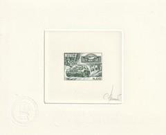 Monaco Epreuve D'artiste Signé N° 1816 60 Rallye De Monaco - Monaco