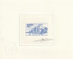 Monaco Epreuve D'artiste Signé N° 1828 Exposition De Séville 1992 - Monaco