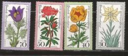 ALEMANIA 1975 FLORES FLORA - Vegetales
