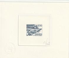 Monaco Epreuve D'artiste Signé N° 1814 50 Grand Prix De Monaco - Monaco