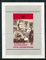 ALBANIA 1984 Liberation Anniversary Block MNH / **.  Michel Block 83 - Albanie