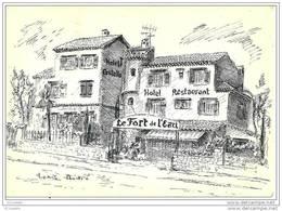 06 CROS  De  CAGNES -  Restaurant   LE FORT DE L' EAU ( Voir Verso ) - France