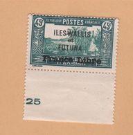 Wallis Et Futuna Taxe N° 105 Neuf ** - Wallis Und Futuna
