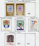 16076 NEPAL Collection Vendue Par Page N°378/9, 381/4, PA5, Service 13/4 °/*/**  1962-81  TB - Népal