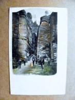 Post Card Carte Karte Austria 1903 Goldberg Art Painting Groger - 1850-1918 Imperium