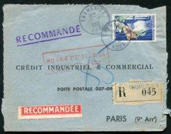 16080 FRANCE N°973° Sur Lettre : Crédit Industriel & Commercial (Recommandé)  Du 19.7.1956   B/TB - 1921-1960: Période Moderne