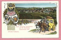 Ganzsache - Entier Postal - MARKTREDWITZ - XXIV Deutscher Philatelistentag 1912 - Besondere Stempel - Bayern 5 Pfennig - Ganzsachen