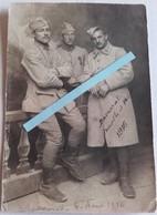 1916 Baccarat Meurthe Et Moselle 150 Eme Régiment D'infanterie Tranchée Poilu WW1 14/18 Carte Photo - War, Military