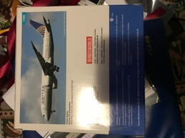 Herpa 1:500 United Boeing 787  Nuovo - Zonder Classificatie