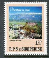 ALBANIA 1984 EURPHILA Exhibition MNH / **.  Michel 2237 - Albania