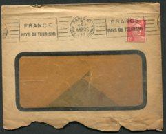 16086 FRANCE N°813° 15F Rouge (Variété Signature En Haut) Flamme : France Pays Du Tourisme  1949  B/TB - Marcophilie (Lettres)