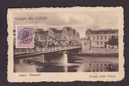 CPA Roumanie Romania Roemenie Circulé Lugoj - Romania