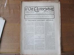 LA VIE AUTOMOBILE DU 10 AOUT 1920 LA VOITURETTE SIMPLEX, LES MOTEURS DESAXES,LE SENS DE L'ORIENTATION - Auto