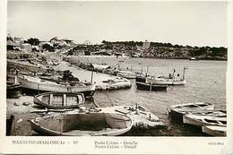 Pays Div- Espagne - Espana - Spain  -ref V947- Manacor - Mallorca - Porto Cristo /- Etat :petit Et Leger Pli Coin Bas Dr - Mallorca