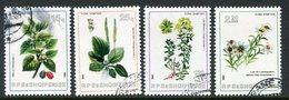 ALBANIA 1984 Plants Used.  Michel 2229-32 - Albanie