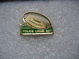 Pin's Du Club De Rugby De La Police, Ligue Est - Rugby