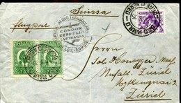 49927 Brasil, Zeppelin Cover 1935 From Sao Paulo To Zurich Switzerland,condor Zeppelin Lufthansa Brasil Europa - Luchtpost