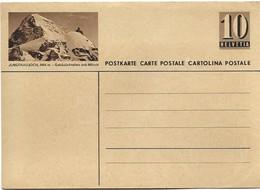 """240 - 29 - Entier Postal Neuf Avec Illustration """"Jungfraujoch"""" - Ganzsachen"""