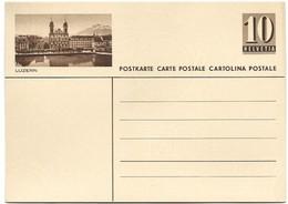 """240 - 30 - Entier Postal Neuf Avec Illustration """"Luzern"""" - Ganzsachen"""