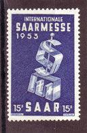 Saarland, Nr. 341** ( T 13012) - Ongebruikt