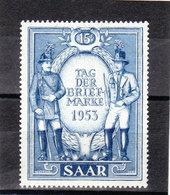 Saarland, Nr. 342** ( T 13013) - Ongebruikt