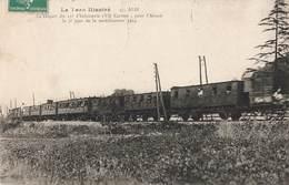 81 Albi Départ Du 15e Regiment Infanterie Via Castres Pour L' Alsace 2e Jour De Mobilisation 1914 Guerre Train - Albi
