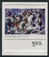 ALBANIA 1983  Skanderberg Epoch In Art Block MNH / **   Michel Block 79 - Albania