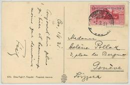 Ufficio Postale Telegrafico / Isole Italiane Dell'Egeo N° 8 / Cartolina Coo  - Il Platano D'Ippocrate . 1931 . Grèce Kos - Egée