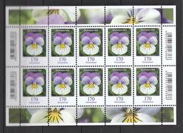 Deutschland BRD **    3473 Blumen  Stiefmütterchen  Kleinbogen Neuausgabe 1.7.2019 - Nuevos