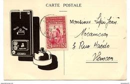 CP (Réf :O137)   THÈME PUBLICITÉ    AVIS DE PASSAGE COMPAGNIE GÉNÉRALE D'ÉLECT - Pubblicitari
