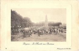 Dépt 14 - BAYEUX - Le Marché Aux Bestiaux - (Héliographie De N.D. Phot. N° 75) - Bayeux