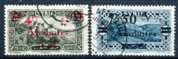 Alaouites      43 Et 45  Oblitérés - Oblitérés