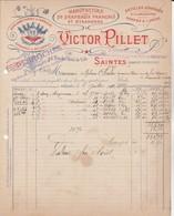 Saintes (Charente Inférieure) - V.Pillet - Drapeaux,guirlandes ... - France