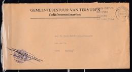Brief Van Tervuren Naar Brugge Gemeentebestuur Van Tervuren - Belgique