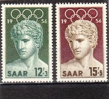 Saarland, Nr. 371/72** ( T 13031) - 1947-56 Protectorate