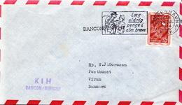 Postal History Cover: Denmark Cover With Dancon / Unficyp KIH Cancel - Militaria