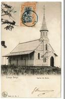 Congo Belge - Eglise De Boma - Circulée En 1919 - Edit. Nels Serie 14/2 - 2 Scans - Congo Belga - Otros