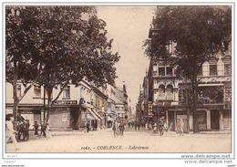 """Cpa  (  Allemagne  )  COBLENCE  """""""" Lobrstrasse """" - Koblenz"""