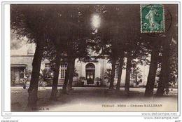 """Cpa     (  Dep  33  )  à   PESSAC - NOES     """"  Château Halloran - Pessac"""