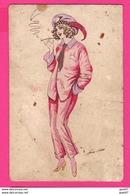 CPA (Ref: Z 1260) (Illustrateurs & Photographes Xavier Sager) Jolies Femmes Avec Beau Chapeau Fantaisies - Sager, Xavier