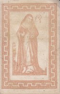 NIVELLES Ste-Gertrude 1857 Image Pieuse - Devotion Images