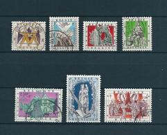 [2071] Zegels 1039 - 1045 Gestempeld - Belgien