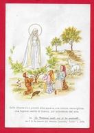 CARTOLINA VG ITALIA - La Madonna Parla Ai Tre Pastorelli - MISSIONI CONSOLATA TORINO - 9 X 14 - 19?? - Vergine Maria E Madonne