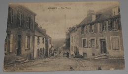 56 - Gourin - Rue Neuve  : Tampon Hôpital Au Dos ::: Animation -------------- 515 - Gourin