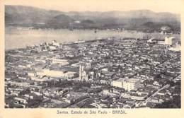 BRASIL Brazil Brésil - SANTOS : Estado - CPA - AMERIQUE DU SUD South America Sudamerica Südamerika - Andere