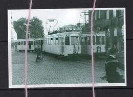 "REPRODUCTION Lijn ""D"" LEUVEN DIEST TRAM LIJN ""B"" BRUSSEL LEUVEN - Tranvía"